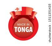tonga flag  vector illustration ...   Shutterstock .eps vector #1511351435