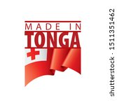 tonga flag  vector illustration ...   Shutterstock .eps vector #1511351462