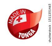 tonga flag  vector illustration ...   Shutterstock .eps vector #1511351465