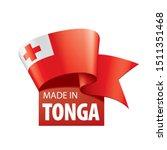 tonga flag  vector illustration ...   Shutterstock .eps vector #1511351468