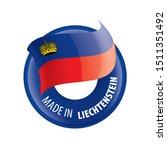 liechtenstein flag  vector...   Shutterstock .eps vector #1511351492