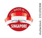 singapore flag  vector...   Shutterstock .eps vector #1511352308