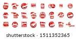singapore flag  vector...   Shutterstock .eps vector #1511352365