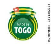 togo flag  vector illustration...   Shutterstock .eps vector #1511352395