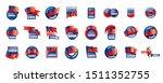samoa flag  vector illustration ...   Shutterstock .eps vector #1511352755