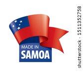 samoa flag  vector illustration ...   Shutterstock .eps vector #1511352758