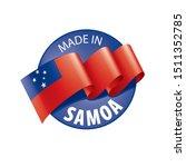 samoa flag  vector illustration ...   Shutterstock .eps vector #1511352785