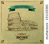 Vector Illustration Of Roman...
