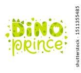 dino prince. childish print... | Shutterstock .eps vector #1511355485