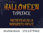 vector halloween original... | Shutterstock .eps vector #1511375462