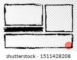 hand drawn grunge frames... | Shutterstock .eps vector #1511428208
