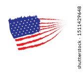 american flag for veteran day   Shutterstock .eps vector #1511429648