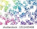 light multicolor vector pattern ... | Shutterstock .eps vector #1511435408