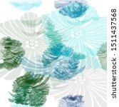 light blue  green vector... | Shutterstock .eps vector #1511437568