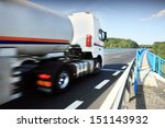 truck on the road | Shutterstock . vector #151143932
