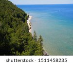 Coastline Mackinac Island  Lak...