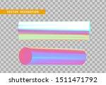set 3d holographic geometric...   Shutterstock .eps vector #1511471792