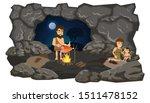 flat composition primitive... | Shutterstock .eps vector #1511478152