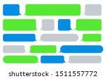 sms message bubbles. vector... | Shutterstock .eps vector #1511557772