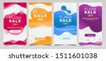 dynamic modern fluid mobile for ... | Shutterstock .eps vector #1511601038