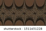 ornate geometric pattern and... | Shutterstock . vector #1511651228