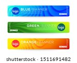 abstract web banner or header... | Shutterstock .eps vector #1511691482