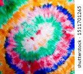 organic spiral. rainbow dye... | Shutterstock . vector #1511701265
