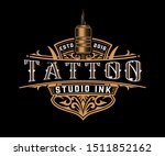 antique logo template with... | Shutterstock .eps vector #1511852162
