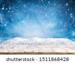 Beautiful Winter Background...