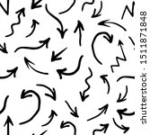 hand drawn seamless pattern... | Shutterstock . vector #1511871848