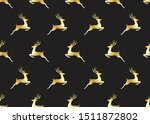 seamless pattern of golden...   Shutterstock .eps vector #1511872802