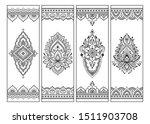 printable bookmark for book  ... | Shutterstock .eps vector #1511903708