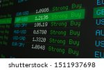 stock market board with... | Shutterstock . vector #1511937698