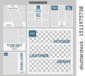 fashion geometry social media...   Shutterstock .eps vector #1511975738