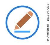 edit vector icon. edit concept...