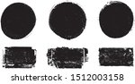 grunge post stamps collection ... | Shutterstock .eps vector #1512003158
