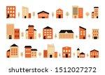 town building design city... | Shutterstock .eps vector #1512027272