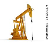 oil pump isolated on white... | Shutterstock . vector #151208375