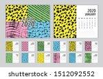 Calendar 2020 Template Vector ...