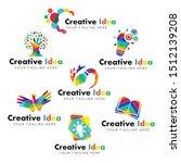 creative logo collection for... | Shutterstock .eps vector #1512139208