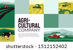template with illustrations of... | Shutterstock .eps vector #1512152402