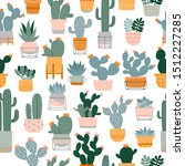 seamless pattern with different ... | Shutterstock .eps vector #1512227285
