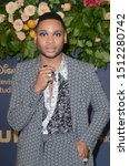 Small photo of LOS ANGELES - SEP 22: Ryan Jamaal Swain at the Walt Disney Television Emmy Party at the Otium on September 22, 2019 in Los Angeles, CA