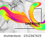 trendy abstract background with ... | Shutterstock .eps vector #1512367625