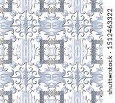 light white floral indian... | Shutterstock .eps vector #1512463322