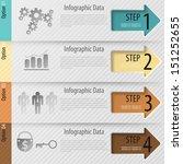 modern infographics options...   Shutterstock .eps vector #151252655
