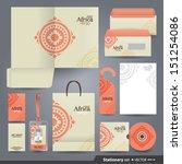 stationery set design  ...