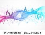 stock market or forex trading... | Shutterstock .eps vector #1512696815