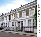 London Street Of Terraced...