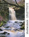 Small photo of Waterfall , Lead Mines Clough North England